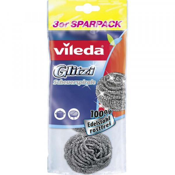 Scheuerspirale 3er Sparpack GLITZI INOX