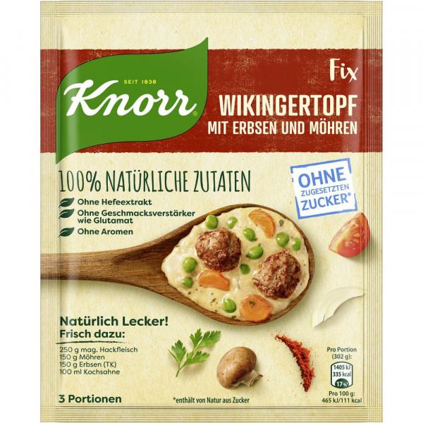 """Fix-Würzmischung """"Natürlich Lecker"""", Wikingertopf mit Erbsen und Möhren"""