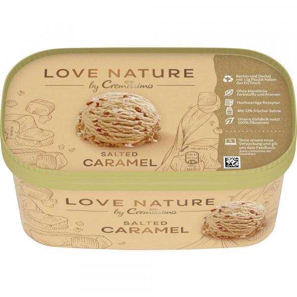 Eiscreme Love Nature Cremissimo, Salt Caramel