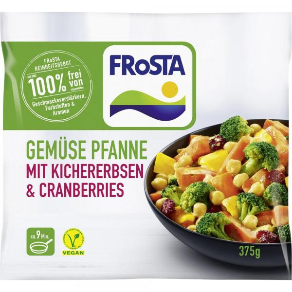 Gemüsepfanne mit Kichererbsen & Cranberrys, tiefgekühlt