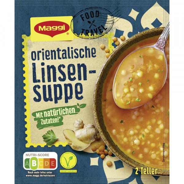 """Orientalische Linsensuppe, """"Food Travel"""""""