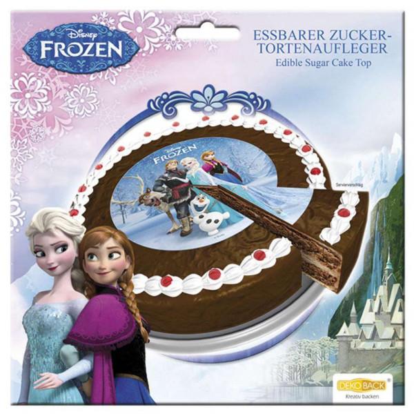 Zucker-Tortenaufleger Frozen