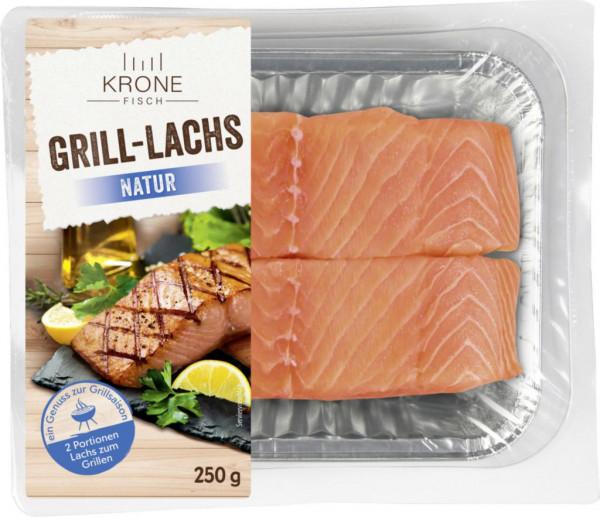 Grill-Lachs, natur