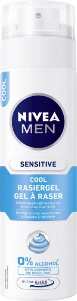 Rasiergel, sensitiv cool
