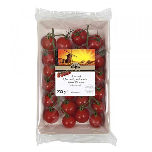 Cherry-Rispentomaten, Schale