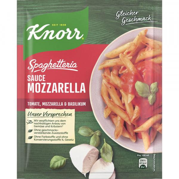 Spaghetteria Sauce, Mozzarella