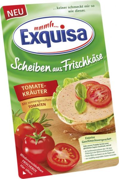 Frischkäse Scheiben, Tomate/Kräuter