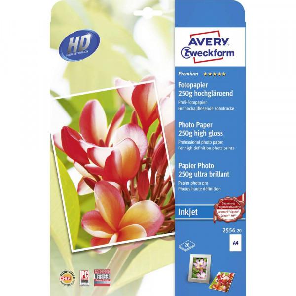 Premium Fotopapier, DIN A4, einseitig beschichtet, 250 g/m²