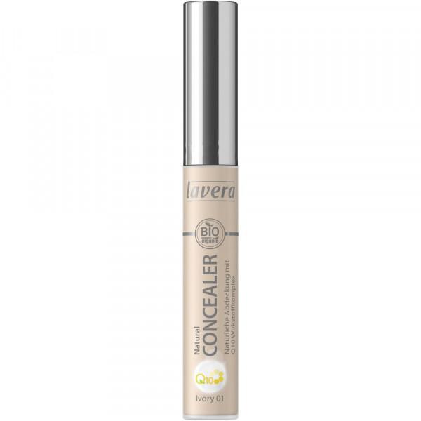 Q10 Natural Concealer, Ivory 01