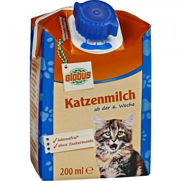 Katzenmilch, laktosefrei