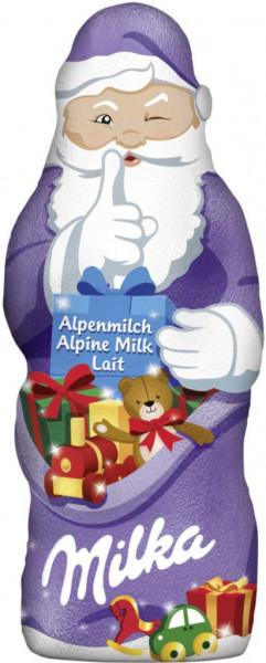 Schokoladen-Weihnachtsmann, Alpenmilch