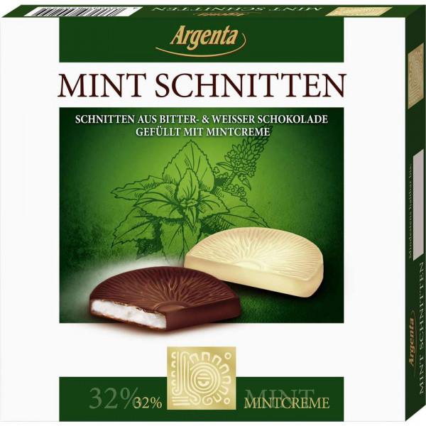 Schokolade mit Mintcreme