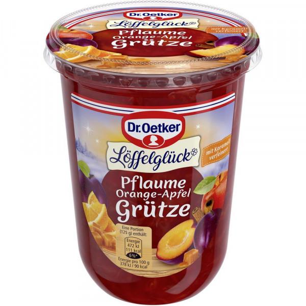 """Pflaume-Orange-Apfel Grütze """"Löffelglück"""""""