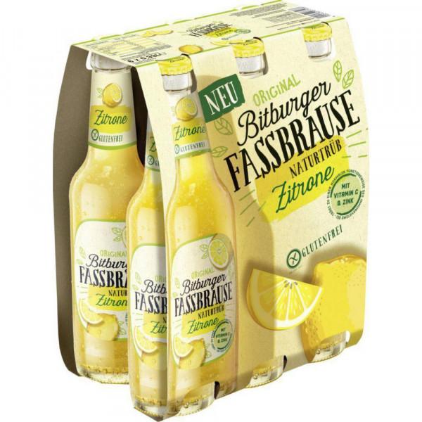 Fassbrause naturtrüb Zitrone (4 x 1.98 Liter)