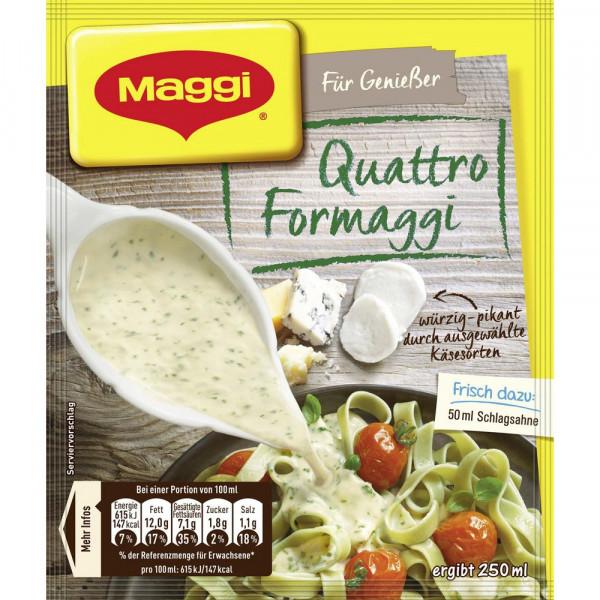 Genießer Sauce, Quattro Formaggi