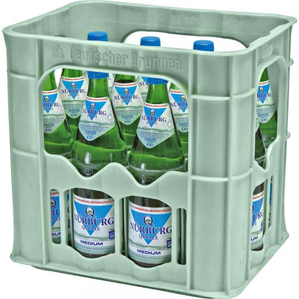 Mineralwasser, Medium (12 x 0.75 Liter)