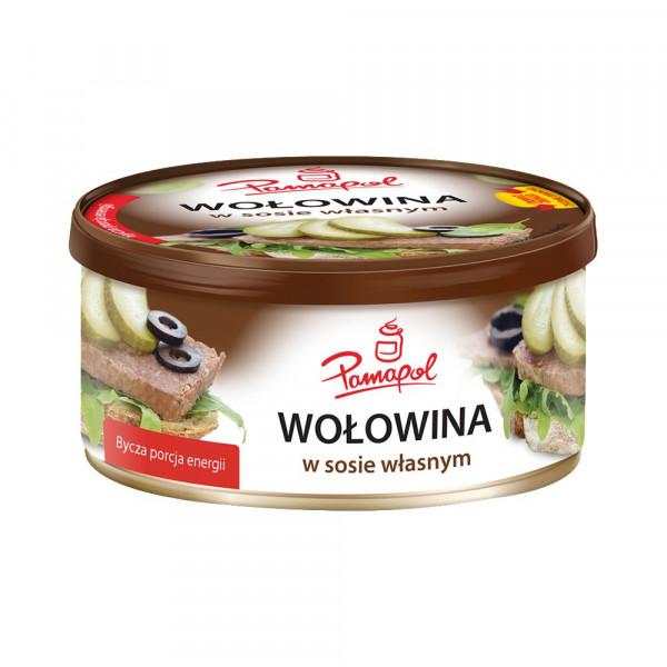 Wolowina Rinderfrühstücksfleisch
