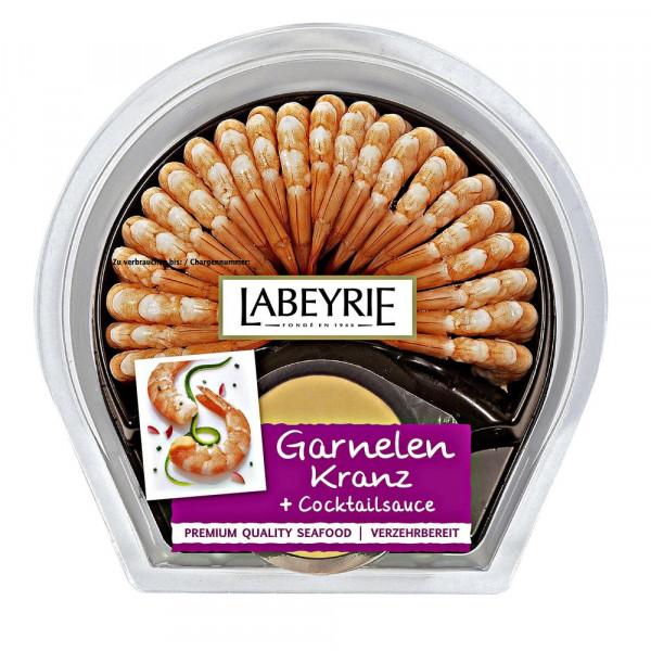 Garnelen-Kranz mit feiner Cocktailsauce