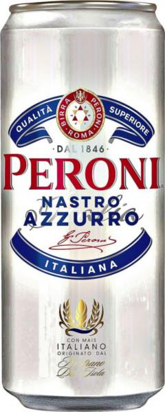 Italienisches Bier Nastro Azzuro 5,1%