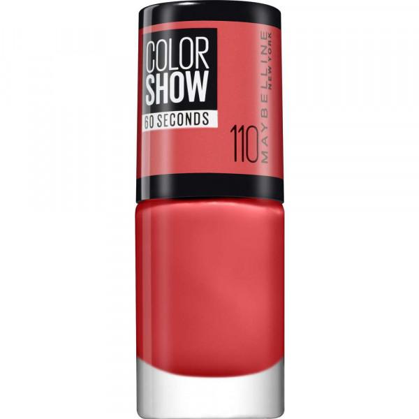 Nagellack Color Show 60 Seconds, Urban Coral 110