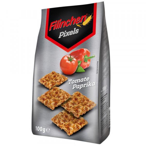 Pixels Waffelbrot, Tomate Paprika