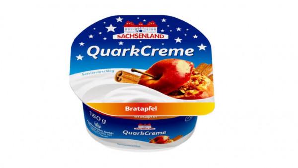 Quarkcreme, Bratapfel