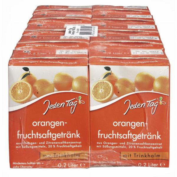 Orangenfruchtsaftgetränk