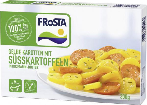 Süßkartoffeln in Rosmarin-Butter, tiefgekühlt