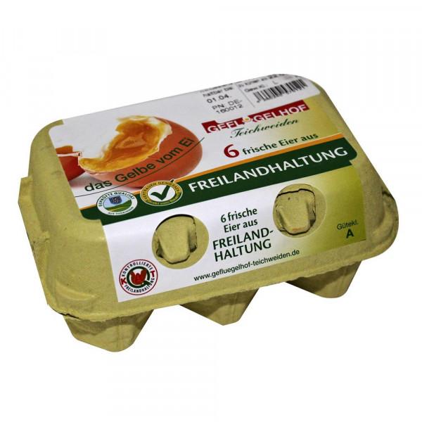 Eier aus Freilandhaltung, Gr. L
