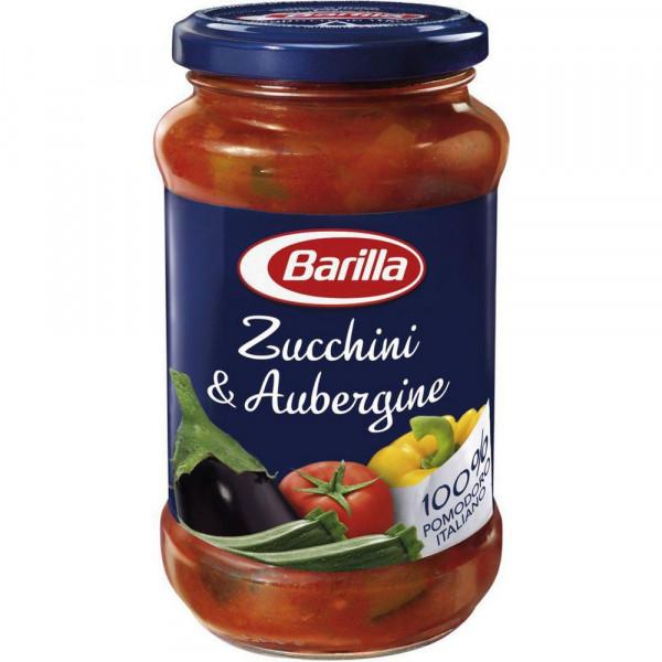 Pasta Sauce mit Tomaten, Zucchini & Aubergine
