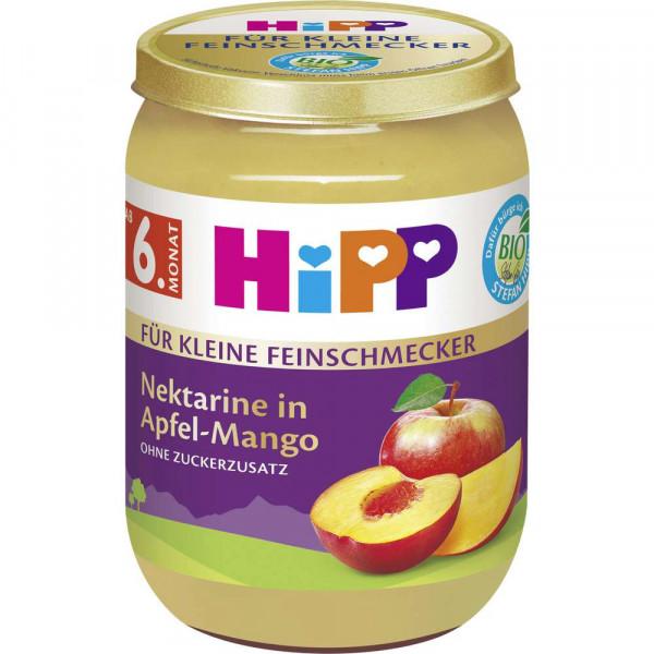 """Bio Fruchtmus """"Für kleine Feinschmecker"""", Nektarine in Apfel-Mango"""
