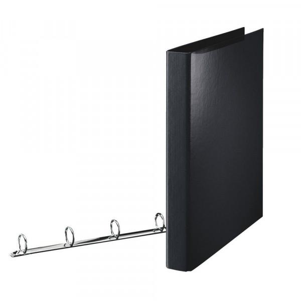 Standard Ringbuch, A4, schwarz