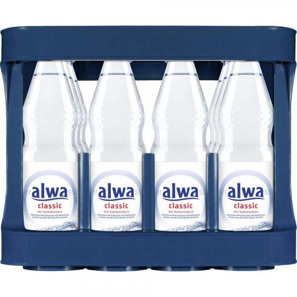Mineralwasser, Klassik (12 x 1 Liter)
