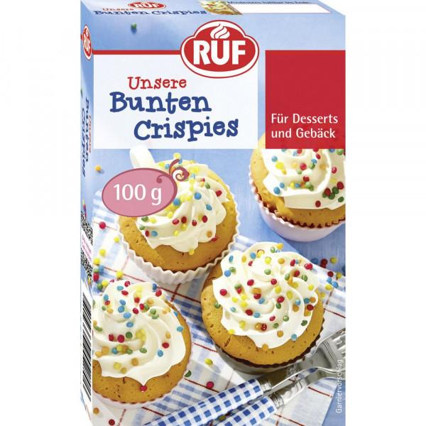 "Zuckerdekoration, ""Bunte Crispies"""