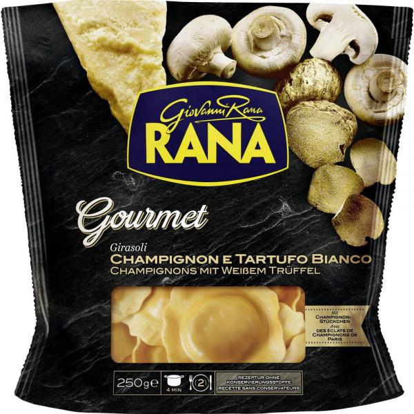 Frische Eierteigwaren mit Füllung aus Ricotta, Pilzen & Trüffel