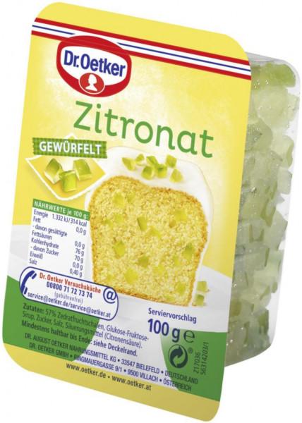 Kanditen, Zitronat