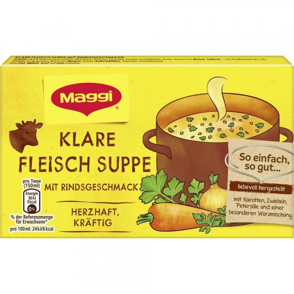 Fleisch Suppe
