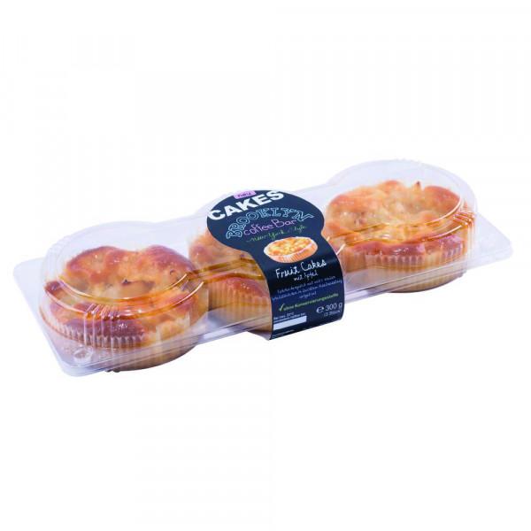 Fruit Cakes, mit Apfel