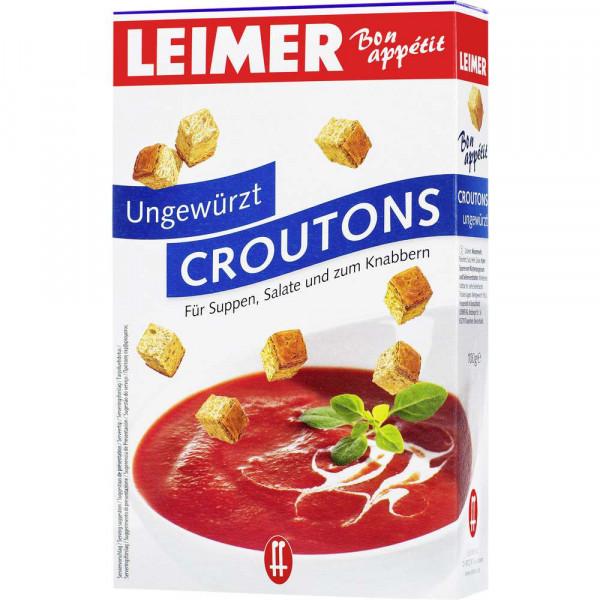 Croutons, Ungewürzt