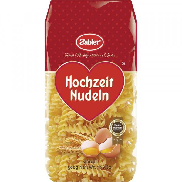 """Hochzeit Nudeln """"Spirelli"""""""