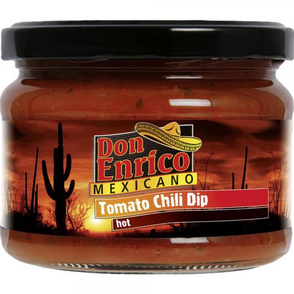 Tomate-Chili Dip, scharf