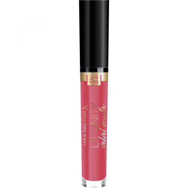 Lippenstift Lipfinity Velvet Matte, Red Luxury 025