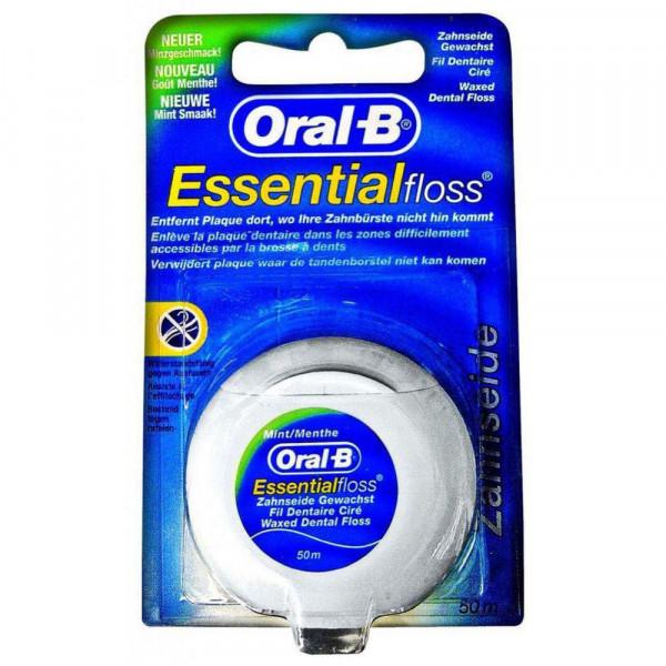 Zahnseide Essentialfloss, gewachst, Minzgeschmack