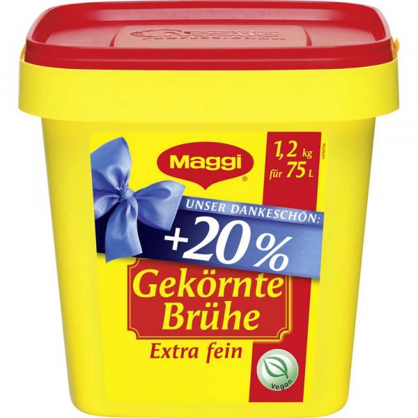 gekörnte Brühe, extra fein +20%