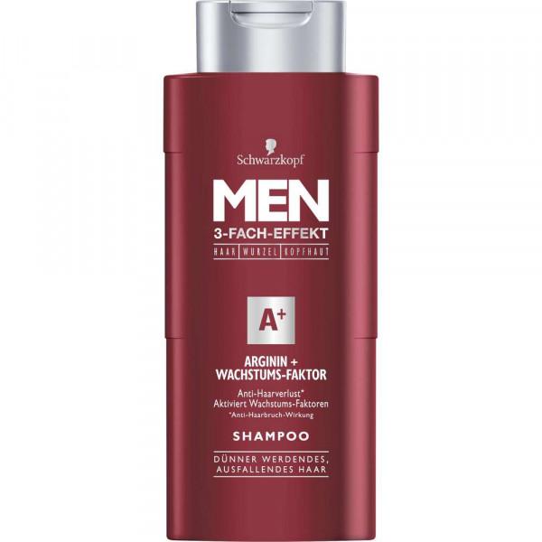 "Men Shampoo 3-Fach-Effekt ""Arginin + Wachstumsfaktor"""
