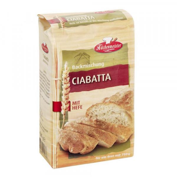 Brotbackmischung, Ciabatta