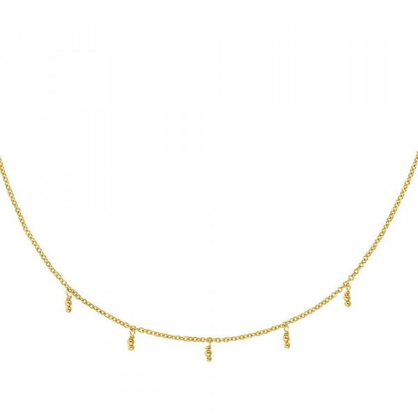 Schmuckset Damen Halskette mit Anhänger aus Silber 925, vergoldet (4056866112643)