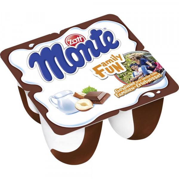 Milch Dessert Maxi, Schoko, 4 x 100g
