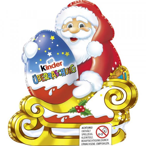 Schokoladen-Weihnachtsmann mit Überraschungsei