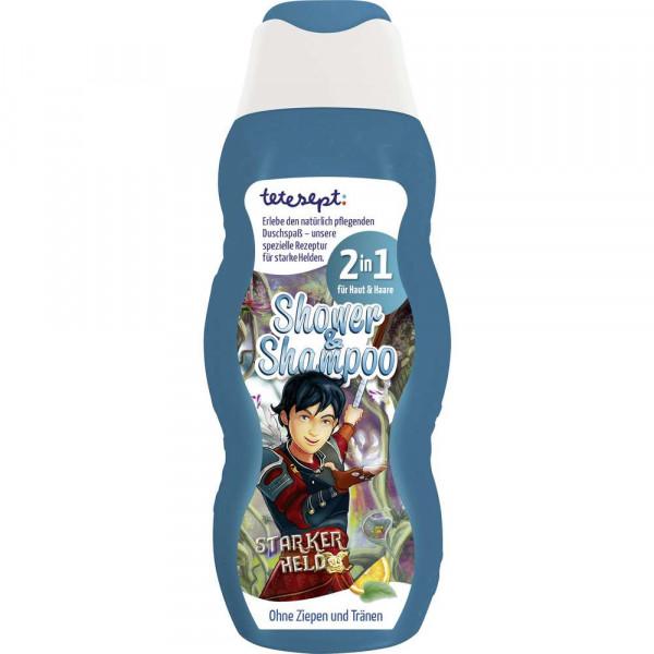 Kinder 2in1 Shampoo & Duschgel, Starker Held